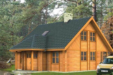 дома на основе деревянного каркаса г.Красноярск